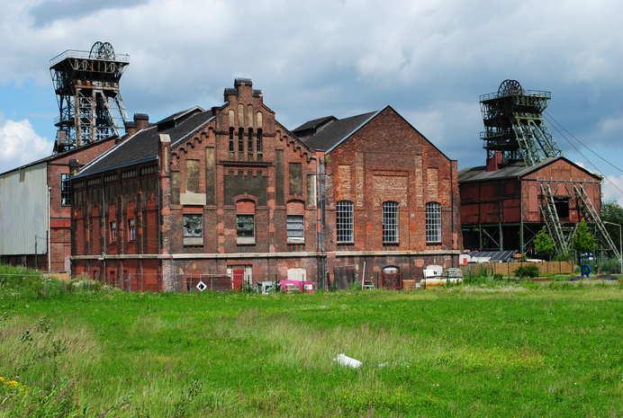 Zechen Ruhrgebiet